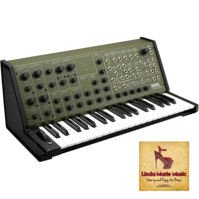 Korg MS-20 FS Full-size MS-20 Synthesizer (Green) IN STOCK READY TO SHIP TODAY;)