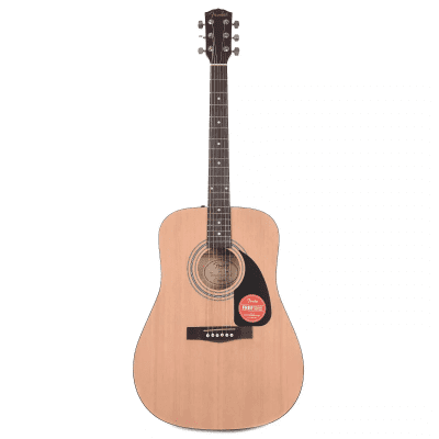 Fender FA-100 Spruce/Basswood Dreadnought Natural