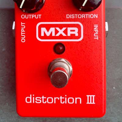 MXR M-115 Distortion III 2010s Red