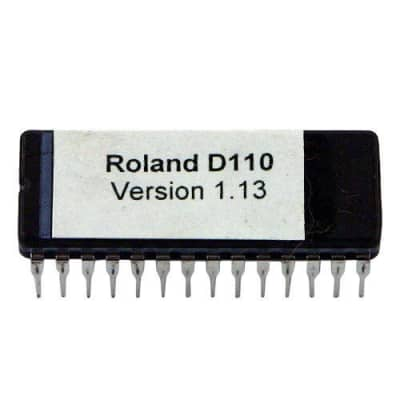 Roland D-110 Eprom with Latest OS version 1.13 firmware D110 Upgrade Update