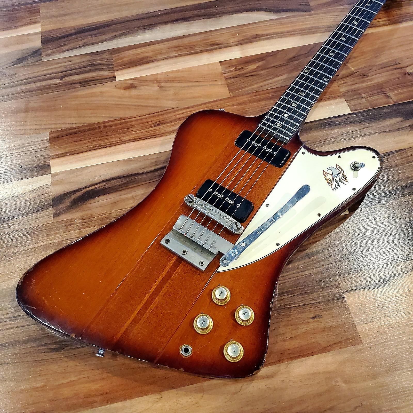 "1965 Gibson Firebird III ""Transition"" Model - Reverse Body P90"