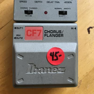 Ibanez CF7 Chorus/Flanger