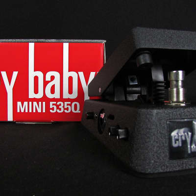 Brand New Dunlop CBM535Q Cry Baby Mini 535Q 4-Wah Voicings True Bypass w/Boost Switch!