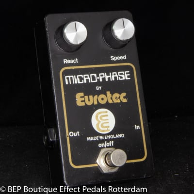 Eurotec Micro Phase 2 Knob version late 70's made in the UK