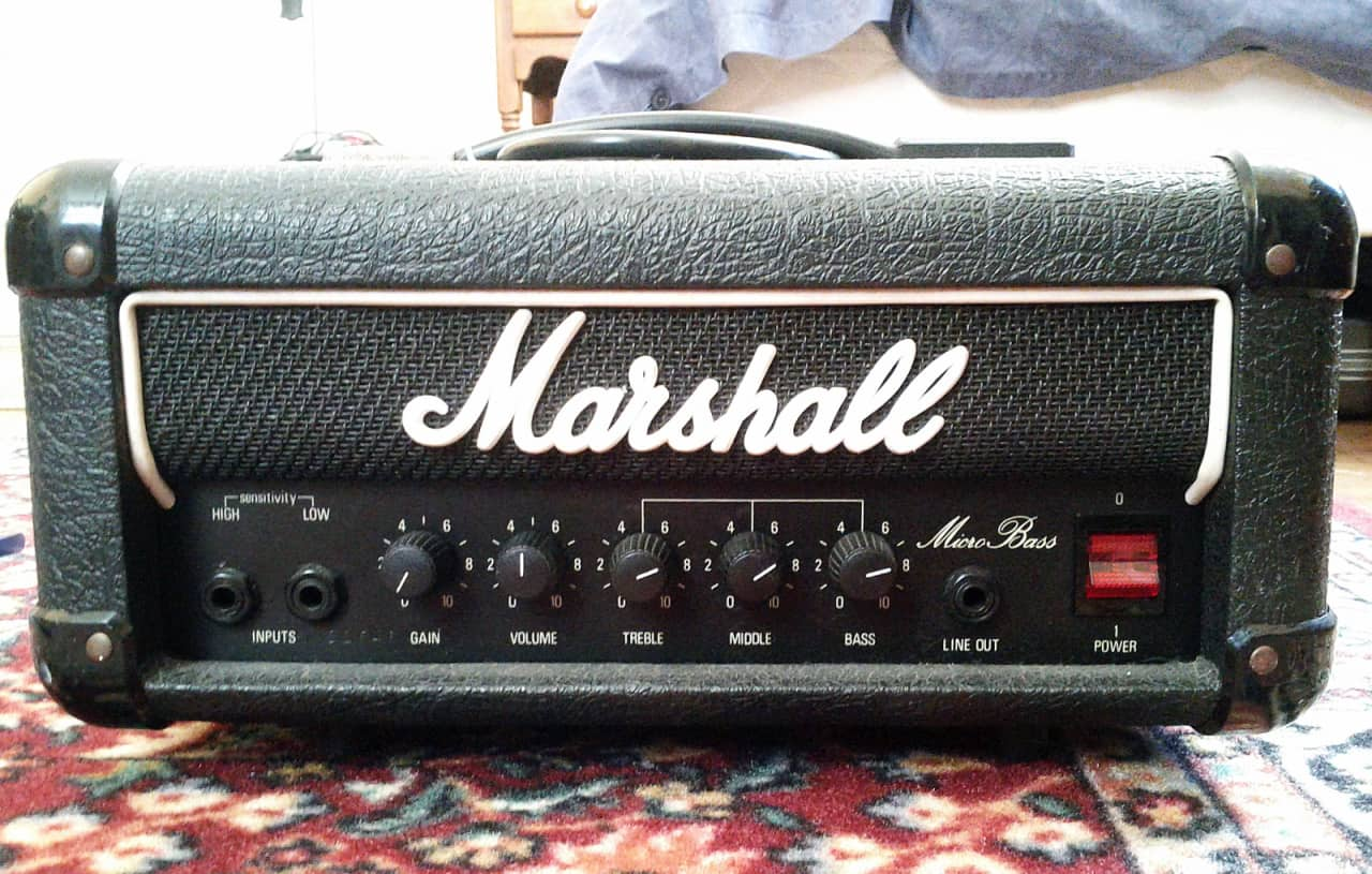 marshall micro bass 30w amp head reverb. Black Bedroom Furniture Sets. Home Design Ideas