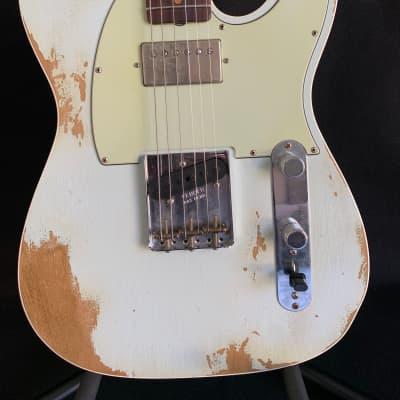 Fender  60's Sfa Hr Telecaster Custom 2018 Sonic Blue