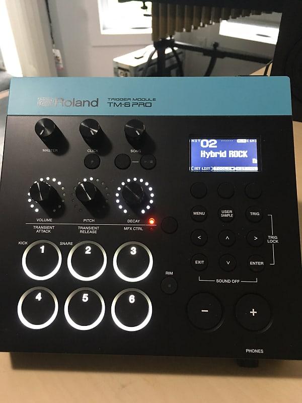 Roland TM-6 Pro Drum Trigger Module 2018 | Simon's Shop | Reverb
