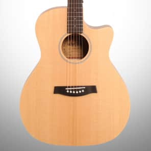 Schecter 3715 Deluxe Acoustic Guitar Natural Satin