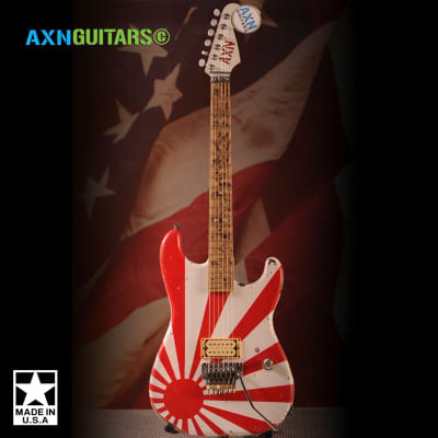 AXN™ SunsetStrip™ Guitar Rising Sun with AXN Headstock for sale