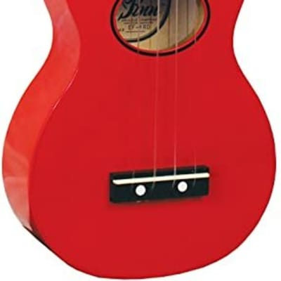 Eddy Finn Red Minnow Ukulele with Bag EF-MN-RD for sale