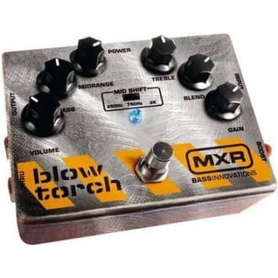 MXR M181 Bass Blow Torch Distortion Pedal for sale