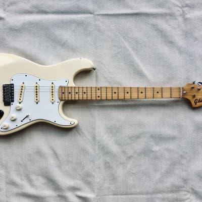 Gibbon Stratocaster 1970's Vintage White for sale