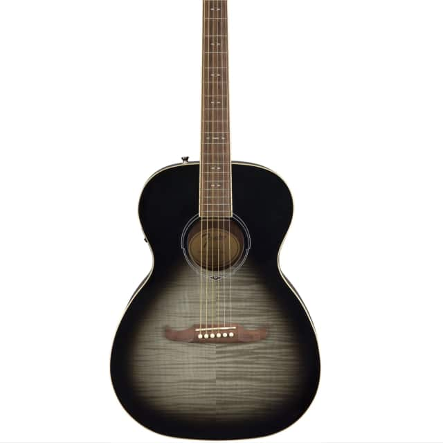Fender FA-235E Concert Size Acoustic Electric Guitar in Moonlight Burst Finish image