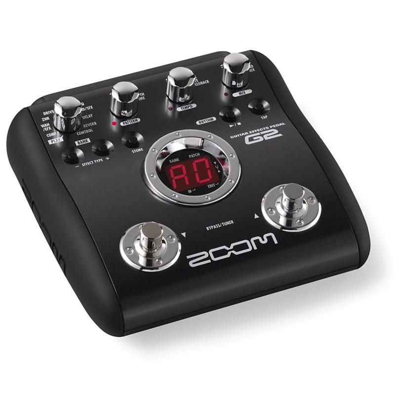 zoom g2 2010s black guitar effects pedal reverb. Black Bedroom Furniture Sets. Home Design Ideas