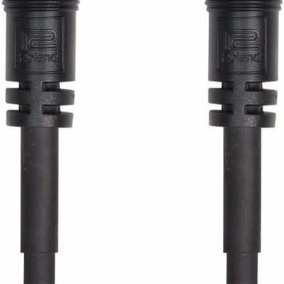 Roland RCC-100-SDI Black Series 100' SDI Cable with BNC Connectors, 20 AWG, 75Ohms