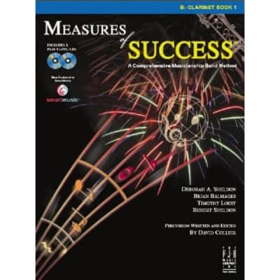 Measures of Success Band Method Book 1-Bb Clarinet