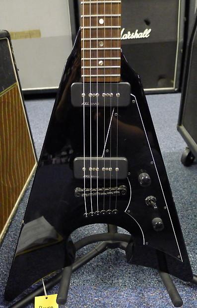 axl mayhem jacknife electric guitar emg p 90 flying v reverb. Black Bedroom Furniture Sets. Home Design Ideas
