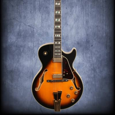 Ibanez GB10SE-BS George Benson Signature Series Hollowbody Electric Guitar Brown Sunburst
