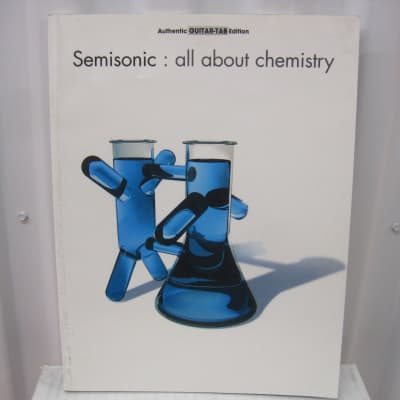 Semisonic All About Chemistry Sheet Music Song Book Songbook Guitar Tab Tablature