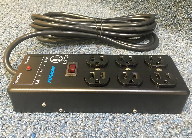 new furman ss 6b pro plugs 6 outlet power strip reverb. Black Bedroom Furniture Sets. Home Design Ideas