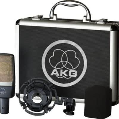 AKG C214 Recording Large Diaphragm Condenser Studio Mic Microphone c 214