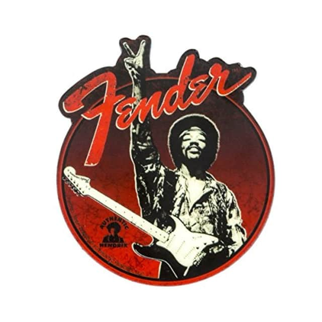Fender Jimi Hendrix Collection Peace Sign Magnet image