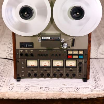 """TEAC A-3440 - 4-track Reel to Reel Recorder (7ips or 15ips / 7"""" or 10.5"""") -Stunning, Mint Condition!"""