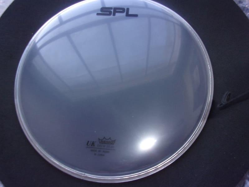 spl logo remo uk 10 batter clear drum head new no box reverb. Black Bedroom Furniture Sets. Home Design Ideas