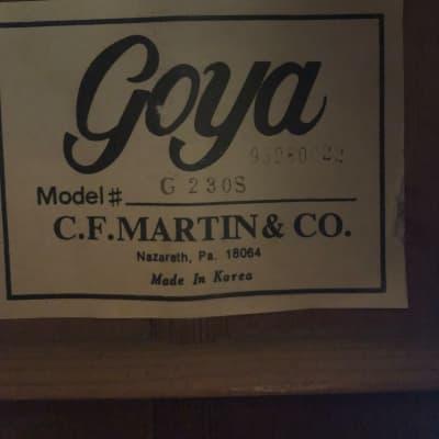 Goya G 230S 93 Natural for sale