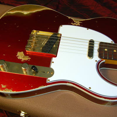 NEW! 2019 Fender 60 Heavy Relic Telecaster Candy Apple Red Tele Custom Shop Authorized Dealer for sale