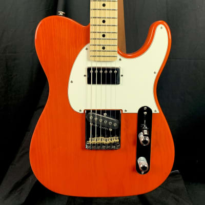 G&L Fullerton Deluxe ASAT Classic Bluesboy Orange MP w/case 7.25 lbs for sale