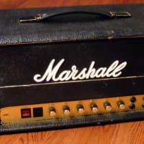 Marshall JMP MK II 2187 50 Watt Head 1978 Black image