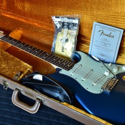 2008 Fender Custom Shop 1960 Stratocaster Reissue NOS in Lake Placid Blue for sale