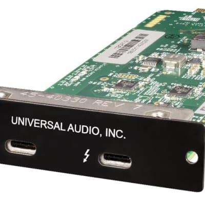 New Universal Audio Thunderbolt 3 Option Card (Mac/Win)