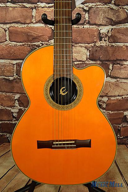 epiphone sst classic 2 0 chet atkins nylon string guitar reverb. Black Bedroom Furniture Sets. Home Design Ideas