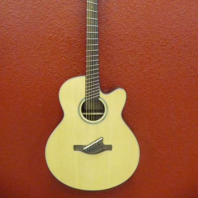 Ibanez AELFF10NT Multi Scale Acoustic Electric Guitar, Natural image