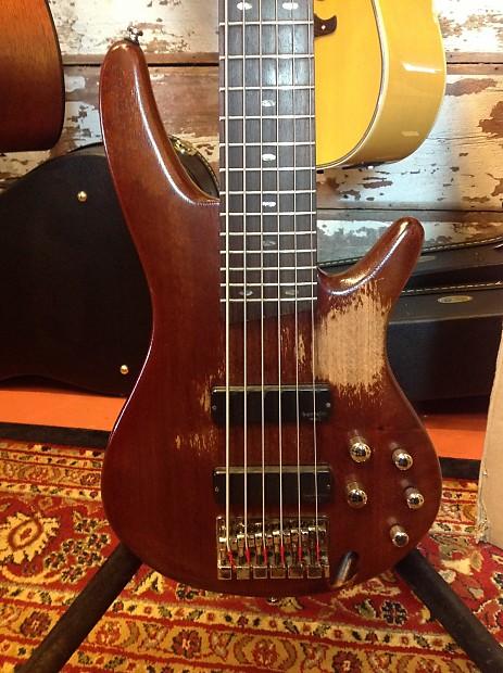 ibanez sr706 6 string bass guitar natural reverb. Black Bedroom Furniture Sets. Home Design Ideas
