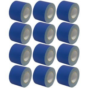 "Seismic Audio SeismicTape-604 60-Yard/Roll Gaffer's Tape - 4"" (12-Pack)"