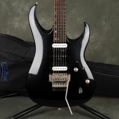 Cort Viva Gold II Black with Malagoli HH777 Pickups w/Gig Bag - 2nd Hand for sale