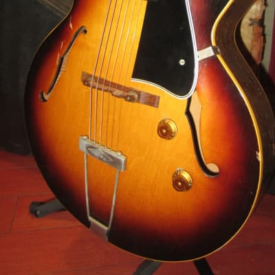 Vintage 1956 Gibson ES-150 Hollow Body Electric Guitar w/ Hard Case for sale