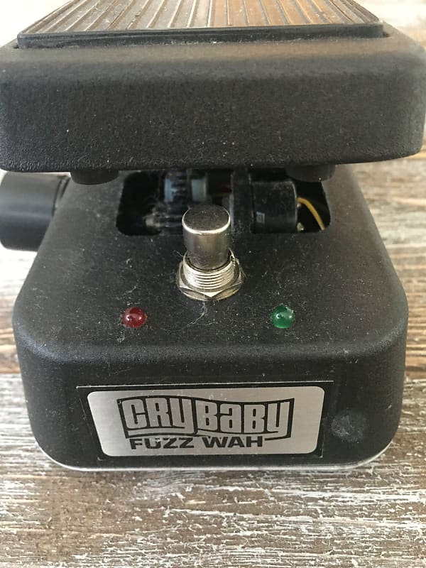 rare dunlop crybaby fuzz wah gcb 95fw 90 s reverb. Black Bedroom Furniture Sets. Home Design Ideas