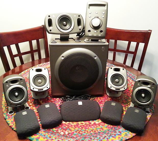 Uitgelezene Logitech Z-680 THX Certified 5.1 Surround Sound System **LOUD | Reverb YG-22
