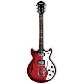 Ibanez AMF73T-TBC Artcore Series Semi-Hollow Electric Guitar w/ Vibrato Tobacco Brown