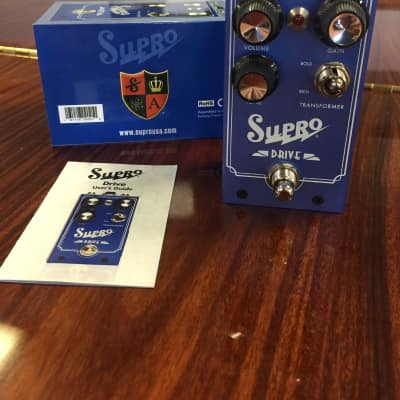 Supro 1305 Drive Overdrive Pedal #0009 9th One Made
