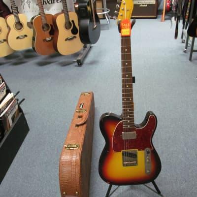 Nash Guitars T63 Single Cutaway Style 3-Tone Electric Guitar w/ Nash Hard Case for sale