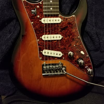 Line 6 JTV-69 S James Tyler Variax Modeling Electric Guitar 3-Tone Sunburst for sale