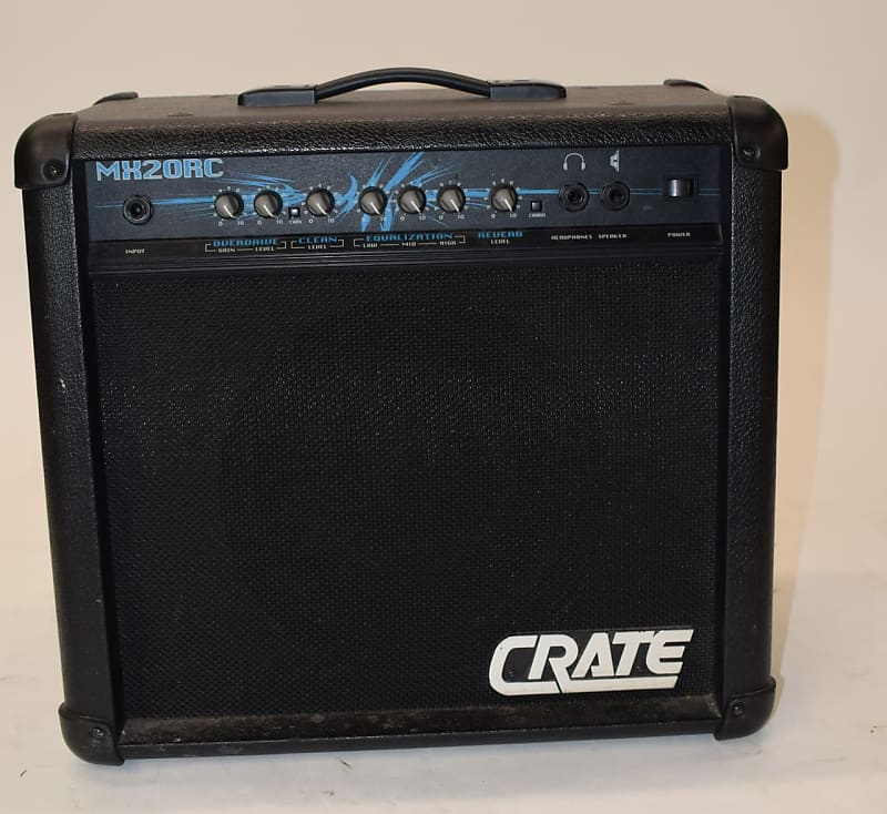 crate mx20rc electric guitar amp previously owned reverb. Black Bedroom Furniture Sets. Home Design Ideas