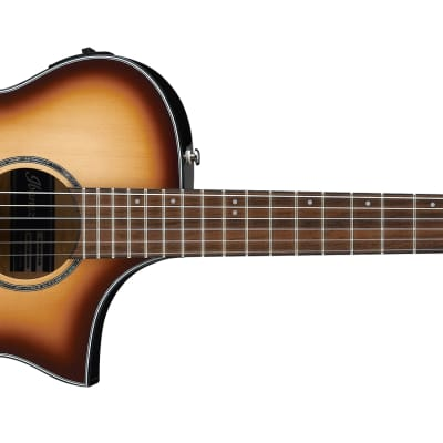 Ibanez AEWC300-NNB Solid Spruce/Flamed Maple Cutaway with