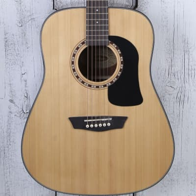 a564e633fd Washburn AD5K Dreadnought Acoustic Guitar Apprentice Series with Hardshell  Case