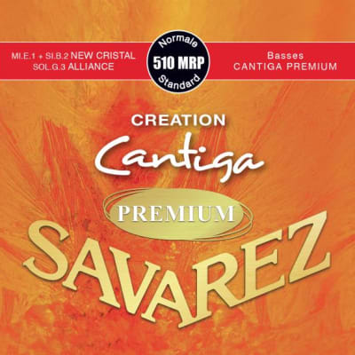 Savarez Premium 510 MRP - Creation Series - Nylon E1 and B2, Carbon G3 - Outstanding Basses!
